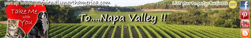 pet friendly napa valley